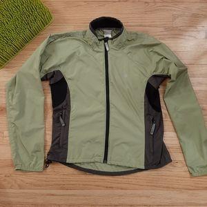 The North Face Women's S Green Rain Jacket Wind